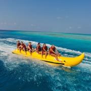 Banana Riding Tub Fun maldive